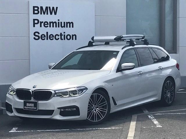 BMW 523dツーリング Mスポーツ ハイラインパッケージ コンフォートアクセス・アクティブクルーズコントロール・シートヒーター・ブラックレザー・電動トランク・ヘッドアップディスプレイ・LEDヘッドライト・純正HDDナビ・ミュージックサーバー・フルセグ・G31