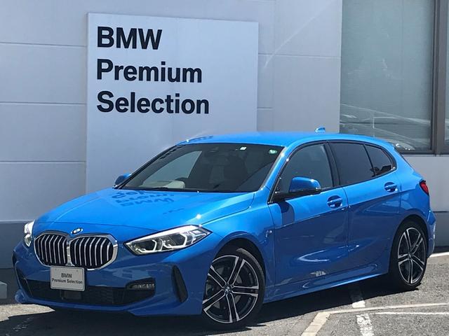 BMW 118d Mスポーツ エディションジョイ+ ・1オーナー・ナビパッケージ・コンフォートパッケージ・LEDヘッドライト・パーキングアシスト・リバースアシスト・バックカメラ・前後PDCセンサー・レーンチェンジウォーニング・ハーフレザー・純正18AW