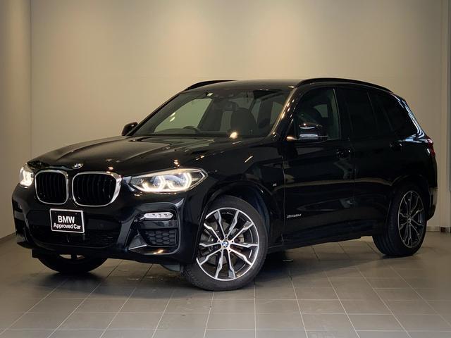 X3(BMW)xDrive 20d Mスポーツ 純正HDDナビ・ブラックレザー・地デジTV・全周囲カメラ・前後シートヒーター・ミラー内臓ETC・電動リアゲート・アダプティブLED・OP20インチAW・衝突軽減ブレーキ・ACC・G01 中古車画像