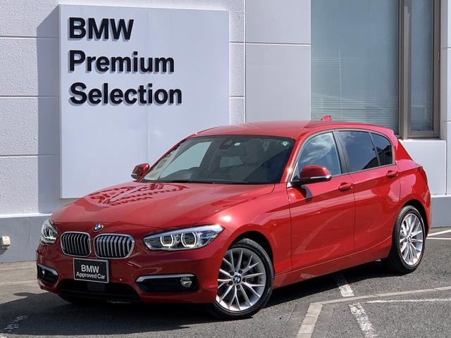 BMW 1シリーズ 118d ファッショニスタ オイスター白レザー・アップグレードPKG・ウッドパネル・フロント電動シート・フロントシートヒーター・純正HDDナビ・社外地デジTV・ACC・バックカメラ・元レンタカー・LEDライト・F20