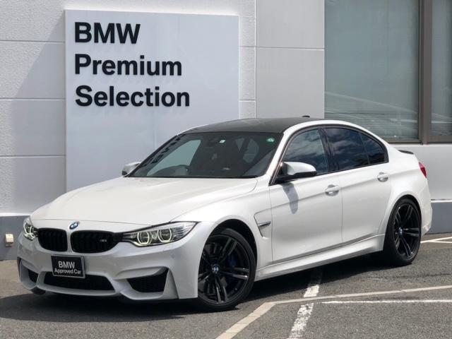 BMW M3 ・純正HDDナビ・バックカメラ・前後PDCセンサー・アダプディブMサス・ブラックキドニー・サキールオレンジレザー・地デジ・ミラーETC・レーンチェンジウォーニング・SOSコール・コネクティッドドライブ
