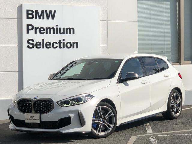 BMW M135i xDrive デビューPKG・アクティブクルーズコントロール・ミラー内臓ETC・電動リアゲート・Mブレーキ・Mスポーツシート・ワンオーナー・純正HDDナビ・バックカメラ・LEDヘッドライト・前後PDC・F40