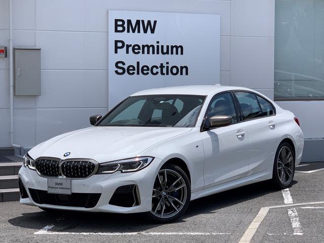 BMW M340i xDrive パーキングアシストプラス・レーザーライト・アクティブクルーズコントロール・バックカメラ・全周囲カメラ・ブラックレザー・シートヒーター・リバースアシスト・純正20インチアルミホイール・パドルシフトG20