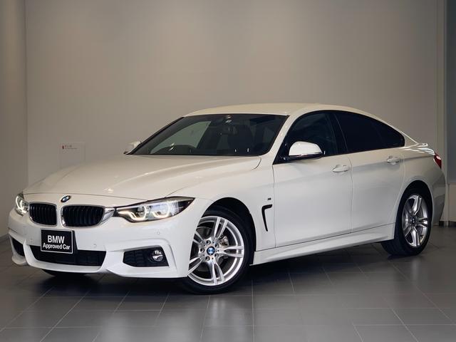 BMW 4シリーズ 420iグランクーペ Mスポーツ ワンオーナー・アクティブクルーズコントロール・純正HDDナビ・バックカメラ・フルセグ地デジ・オートトランク・LEDヘッドライト・純正18インチアルミホイール・レーンチェンジウォーニング・ETC・F36