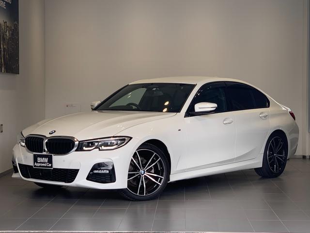 BMW 3シリーズ 320i Mスポーツ ワンオーナー・デビューパッケージ・オプション19インチアルミホイール・ブラックレザー・オートトランク・全周囲カメラ・純正HDDナビ・バックカメラ・ドライビングアシスト・LEDヘッドライト・ETCG20
