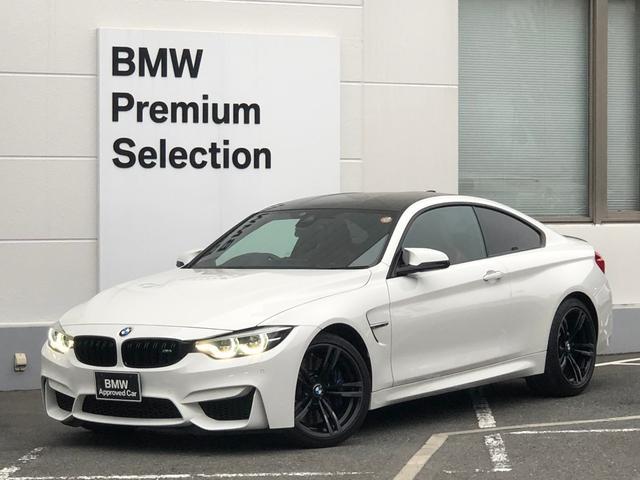 BMW M4 M4クーペ ・赤レザー・シートヒーター・バックカメラ・PDCセンサー・ヘッドアップディスプレイ・パワーシート・地デジ・ハーマンカードンスピーカー・LEDヘッドライト・コンフォートアクセス・カーボンリアスポイラー・