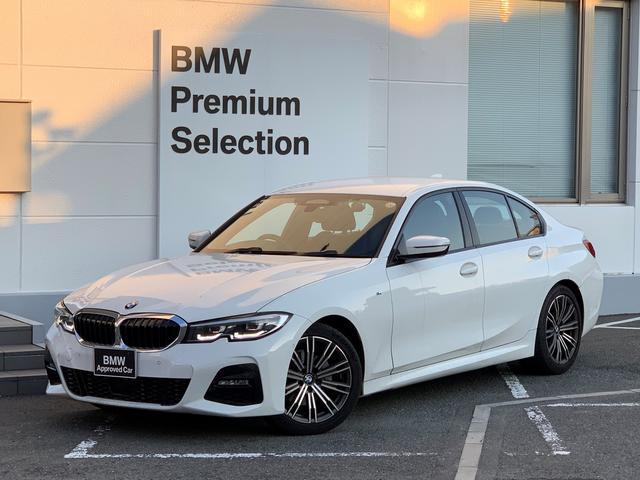 BMW 3シリーズ 320i Mスポーツ 1オーナー・アクティブクルーズコントロール・インテリジェントセーフティ・ハーフレザー・スマートキー・LEDヘッドライト・パワーシート・純正18インチアルミホイール・シートヒーター・バックカメラ・G20