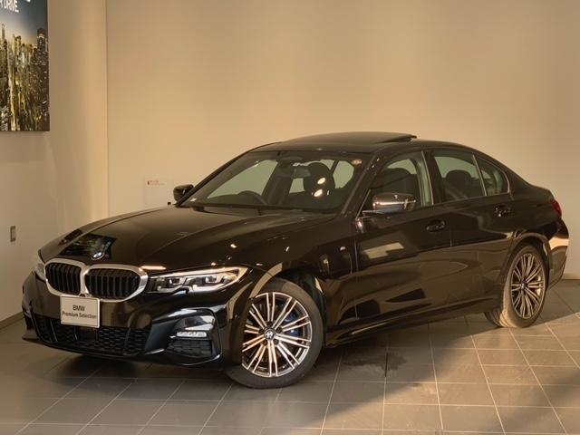 BMW 330e Mスポーツ ハイラインパッケージ サンルーフ・アクティブクルーズコントロール・ブラウンレザー・シートヒーター・純正HDDナビ・バックカメラ・LEDヘッドライト・パワーシート・純正18インチアルミホイール・ETC・後退アシスト・G20