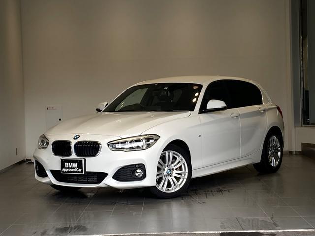 BMW 118d Mスポーツ LEDヘッドライト インテリジェントセーフティー HDDナビ Bカメラ PDC アルカンタラスポーツシート 純正17インチAW ミラーETC 衝突軽減ブレーキ