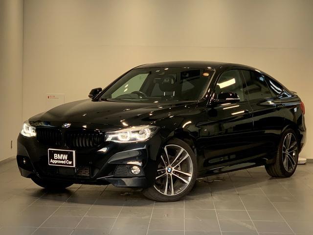 BMW 3シリーズ 320d xDrive グランツーリスモ Mスポーツ 純正HDDナビ・インテリジェントセーフティー・ブラックレザー・フロントシートヒーター・1オーナー・純正19インチAW・社外地デジTV・ACC・ミラー内臓ETC・F34