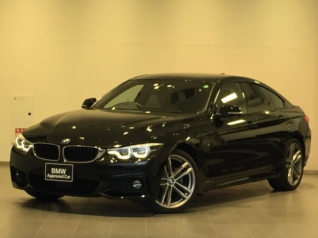 BMW 4シリーズ 420iグランクーペ Mスポーツ コニャックレザー・パワーシート・パワートランク・アダプティブLEDヘッドライト・純正オプション19インチアルミ・アクティブクルーズコントロール・コンフォートアクセス・フォグランプ・ミラーETC・F36