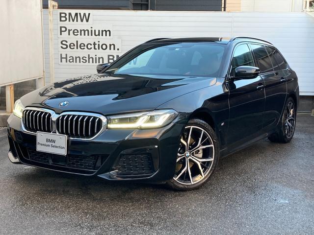 BMW 5シリーズ 523dxDriveツーリングMスポーツEDジョイ+ エクスクルーシブナッパレザーPKG フロントコンフォートシート アストラジットルーフライニング LEDヘッドライト HDDナビ全周囲モニター 地デジTV