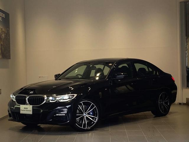BMW 320d xDrive MスポEDジョイ+ハイライP 弊社デモカー ファストトラックP コンフォートP パーキングアシスト ブラックレザーシート シートヒーター 純正19インチAW Mブレーキ LEDヘッドライト HDDナビ 全周囲モニター
