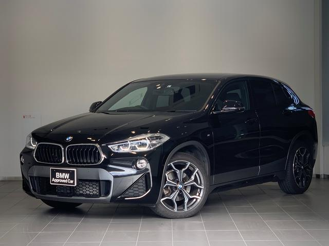 BMW X2 xDrive 18d MスポーツX 弊社下取り車・純正HDDナビ・ヘッドアップディスプレイ・ACC・LEDヘッドライト・電動リアゲート・純正19インチAW・フロントシートヒーター・衝突軽減ブレーキ・車線逸脱警告・四輪駆動システム・F39