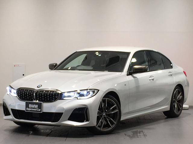 BMW M340i xDrive ワンオーナー ヘッドアップディスプレイ パーキングアシストプラス ドライビングアシスト アクティブクルーズコントロール リバースアシスト ハイビームアシスタント 衝突被害軽減ブレーキ レーザーライト