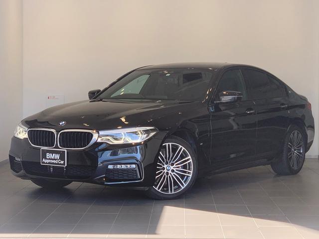 BMW 530e Mスポーツアイパフォーマンス ワンオーナー車・ブラックレザー・前後シートヒーター・純正HDDナビ・地デジTV・全周囲カメラ・アダプティブLEDヘッドライト・電動リアゲート・ACC・Mブレーキ・衝突軽減ブレーキ・G30