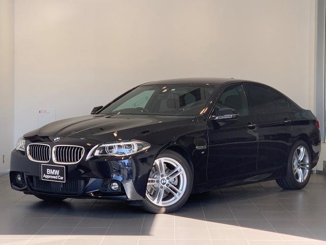 BMW 523i Mスポーツ アダプティブLEDヘッドライト・ブラックレザー・前後シートヒーター・ミラー内臓ETC・コンビニエンスパッケージ・ソフトクローズドア・ハイラインパッケージ・電動リアゲート・ACC・バックカメラ・F10