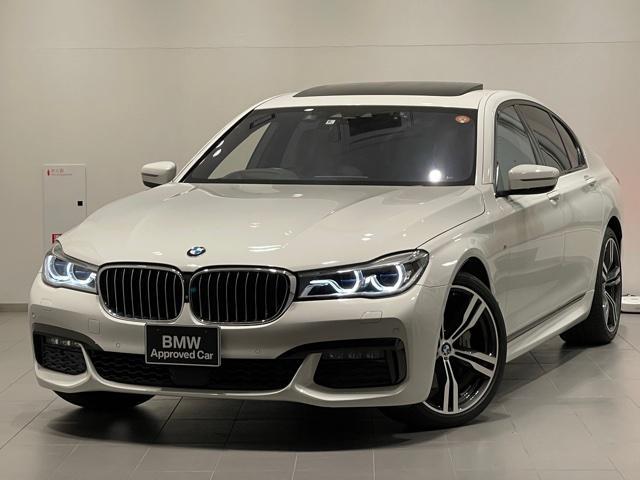 BMW 740i Mスポーツ リアコンフォートパッケージ・ワンオーナー・レーザーライト・純HDDナビ・バックカメラ・PDCセンサー・全周囲カメラ・サンルーフ・ステアリングヒーター・シートヒーター・シートエアコン・ヘッドアップG11