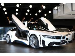 BMWエナジーコンプリートカーEVOi8 カーボンED ラッピング