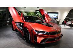 BMW i8エナジーコンプリートカーEVO i8 マットレッド カーボン