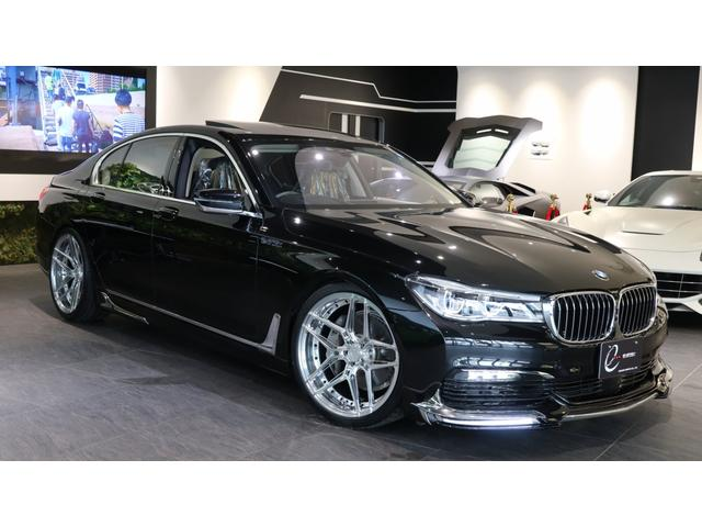 BMW 740i 現行シリーズ 新品エナジー20AW&タイヤ ルーフ