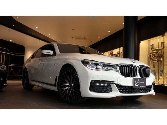 BMW 740i Mスポーツ エナジー新品20AWタイヤ サンルーフ