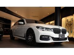 BMW740i Mスポーツ エナジー新品20AWタイヤ サンルーフ