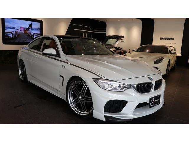 BMW 4シリーズ 420iクーペラグジュアリー エナジーEVO32.1 OP多
