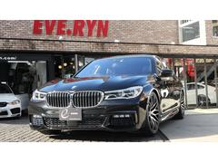 BMW740i Mスポーツ サンルーフ1オーナー 新品エナジーAW