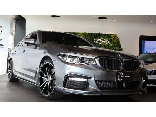 BMW 5シリーズ 530e Mスポーツアイパフォーマンス エナジーコンプリートカーEVO G30.2 走行0.5万km 黒革 車検R3/12まで ヘッドアップディスプレイ エナジー20インチAW&タイヤ 新品製作 プラグインハイブリッド車