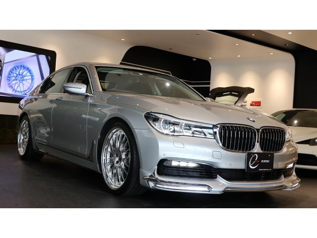 BMW 740i エナジーコンプリートカーEVO G11.1 グレイシャーシルバー 純正メーカーオプション レーザーヘッドライト ブラックレザーシート 車検R3年3月まで オートトランク ソフトクローズド ACC