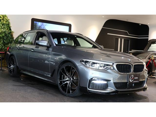 5シリーズ(BMW) 523iツーリング Mスポーツ ハイラインパッケージ エナジーコンプリートカーEVO G31.2 フロントリップ&サイドステップ/スパッツ&リア エナジー新品20インチホイール&タイヤ 中古車画像