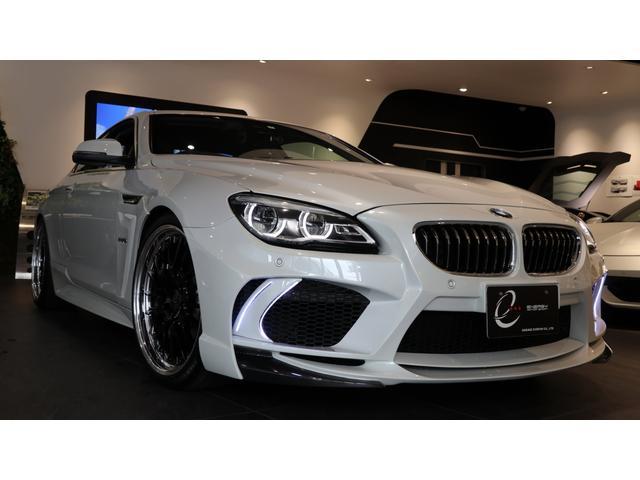 BMW 640iクーペ 後期モデル エナジーコンプリートカーEVO13.1 デモカー仕様 可変マフラー 専用OP(デイライトカバー・デイライト・フロントセンター・カーボンリップ・フェンダーパネル・カーボンリア・トランクS)