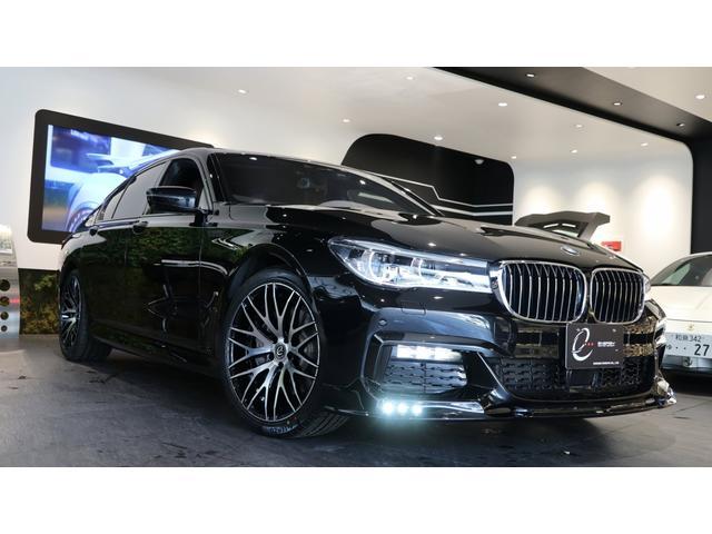 BMW 740eアイパフォーマンス Mスポーツ エナジーコンプリートカーEVO G11.2 ガラスサンルーフ レーザーヘッドライト プラグインハイブリッド 新品エナジー20インチAW&タイヤ ブラウンレザーシート スペアキー有 ローダウン