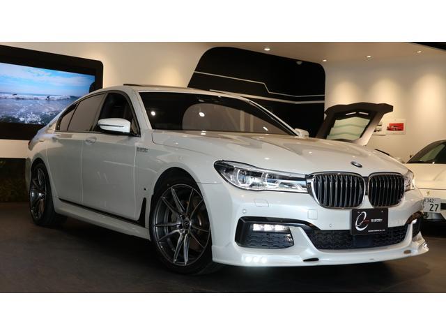 BMW 7シリーズ 740eアイパフォーマンス Mスポーツ エナジーコンプリートカーEVO G11.2 ガラスサンルーフ ドライブレコーダー レーダー探知機 H30・R1年ディーラー点検記録簿有 レーザーヘッドライト ブラウンレザーシート 新品エナジー20AW