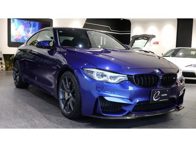 BMW M4 CS 国内60台限定 カーボンブレーキ付 ワンオーナー車 車検R3/10まで 左ハンドル OLEDテールランプ シートヒーター 記録簿 コネクテッドドライブ アダプティブMサスペンション