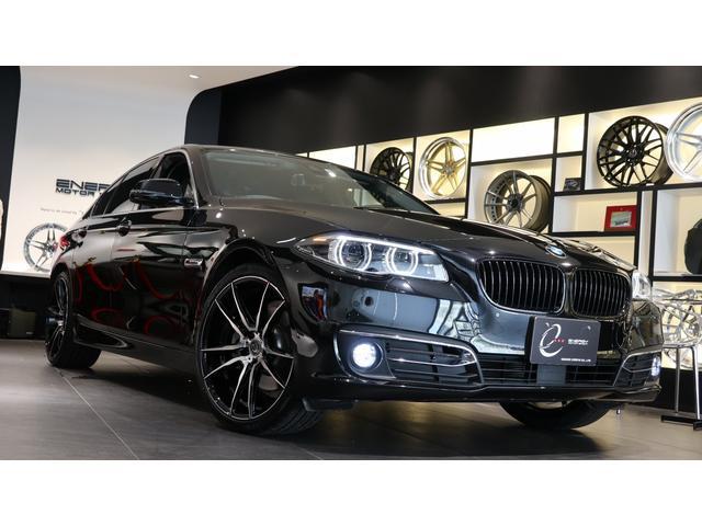 BMW 5シリーズ 523iラグジュアリー 後期モデル プラスパッケージ リアサイドローラーブラインド(手動) アダプティブLEDヘッドライト マルチメーターパネルディスプレイ 新品エナジー20インチAW&タイヤ アクティブクルーズコントロール