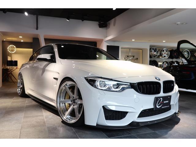 BMW M4 M4クーペ コンペティション M4CSリップ&リアスポイラー 3Dデザインリアディフューザー アクラボビッチマフラー KW車高調Ver3 コントロールアーム WORK AW VF ENGINEERING ヒートエクスチェンジャ