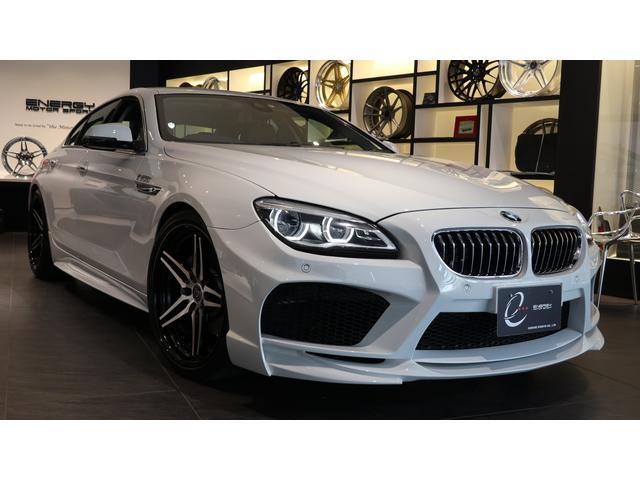 BMW 640iグランクーペ 後期モデル エナジーコンプリートカーEVO06.1 アダプティブLEDヘッドライト 専用OP センターバー トランクスポイラー スポーツスプリング 衝突軽減 車線逸脱 アクティブクルーズコントロール