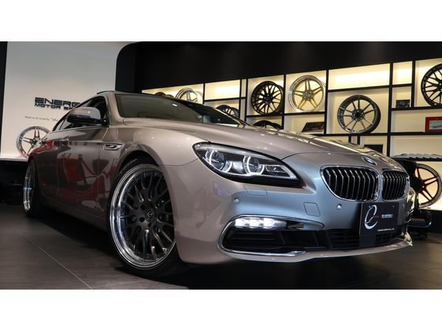 BMW 640iグランクーペ 後期 コンフォートP Fコンフォートシート Fベンチレーションシート リアシートヒーター ソフトクローズドドア 4ゾーンオートマチックコンディショナー ガラスサンルーフ 新品エナジー21AW タイヤ