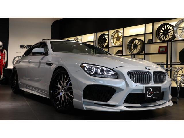 BMW 640iグランクーペ エナジーコンプリートカーEVO06.1 コンフォートP Fコンフォートシート Fベンチレーションシート リアシートヒーター ガラスサンルーフ LEDヘッドライト クルコン ソフトクローズドドア 記録簿