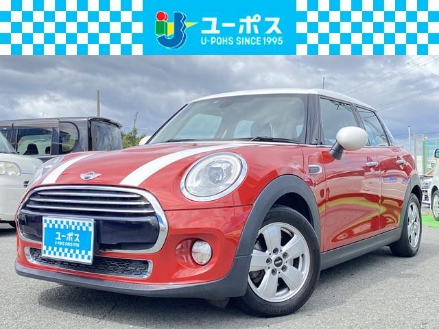 MINI クーパー 禁煙車・メーカーナビ・スマートキー・LEDヘッドライト・ETC・電格ミラー・ホワイトルーフ・ユーザー買取車・
