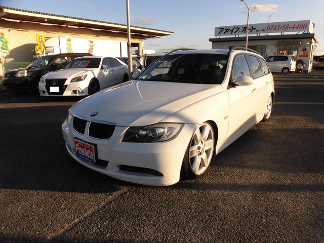 BMW 320iツーリング スマートキー 車高調 社外19AW