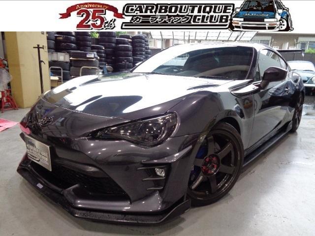 トヨタ GT ワンオーナー TOMSアンダースポイラー HKSマフラー RAYS18インチAW トラストターボキット VALENTILEDテールランプ エンドレスBキャリパー ブリッドフルバケットシート 車高調