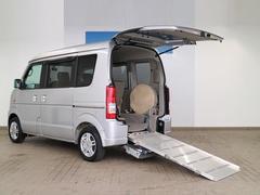 エブリイワゴン車いす移動車 後部電動固定リヤシート付 ワンオーナー