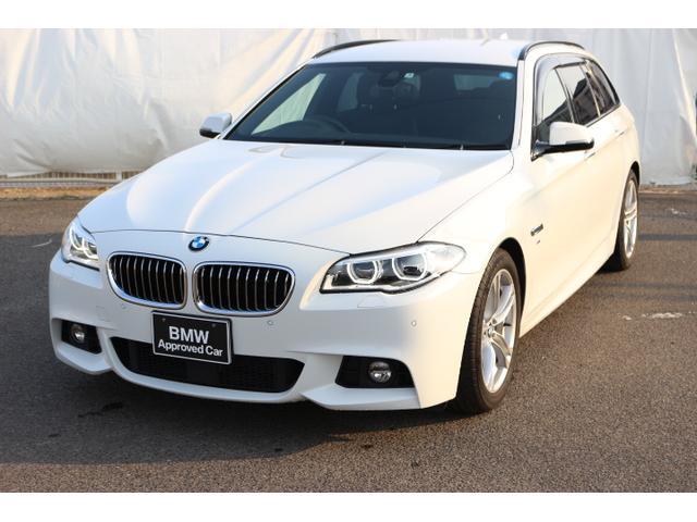 BMW 523dツーリング MスポーツACC 車線逸脱警告