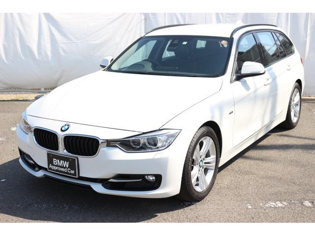 BMW 320iツーリング スポーツレザー シートヒータ軽減ブレーキ