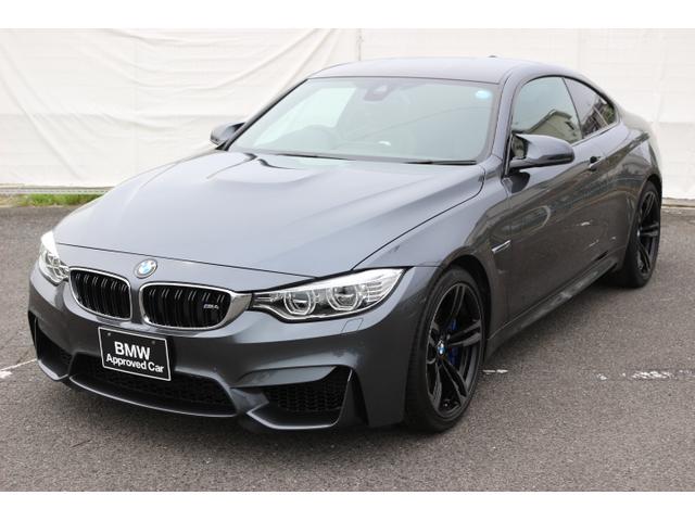 BMW M4クーペ19AWLEDワンオーナー黒レザーヘッドアップ