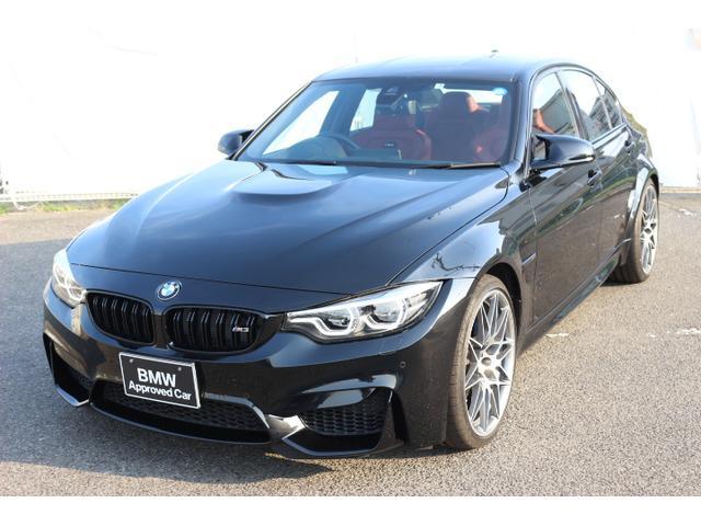 BMW M3セダン コンペティションサキールオレンジレザーデモカー