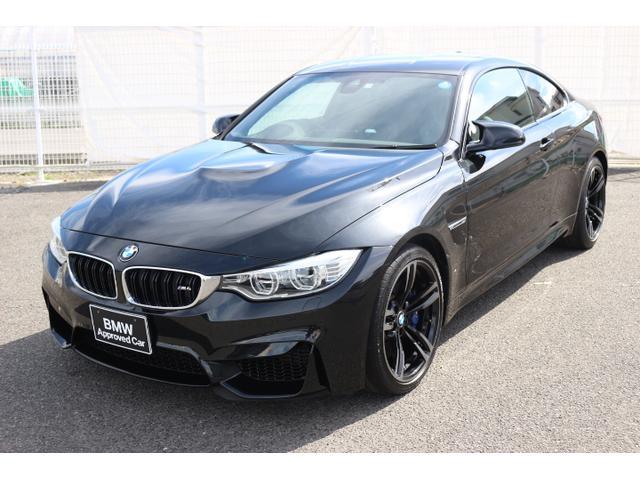 BMW M4クーペ 黒レザー アダプティブLEDヘッドアップDSP